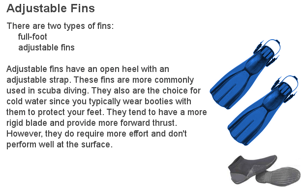 Pairs of fins