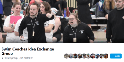 Banner from Facebook's Swim Coaches Idea Exchange Group