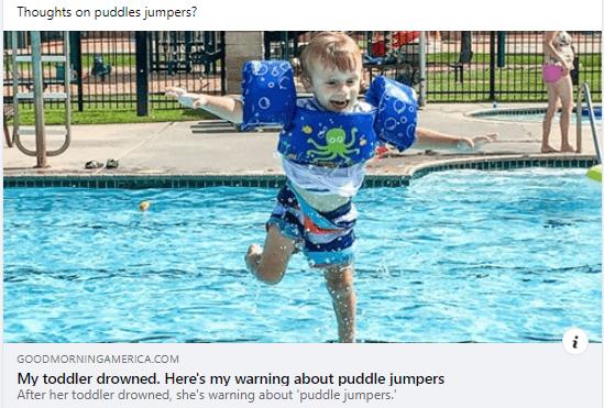 GMA coverage - puddle-jumper warning